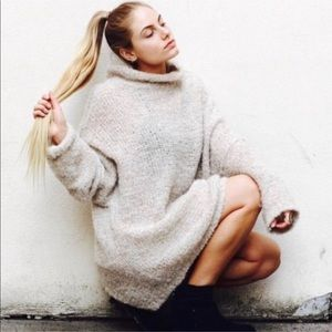 Free People She's All That Sweater in Ivory